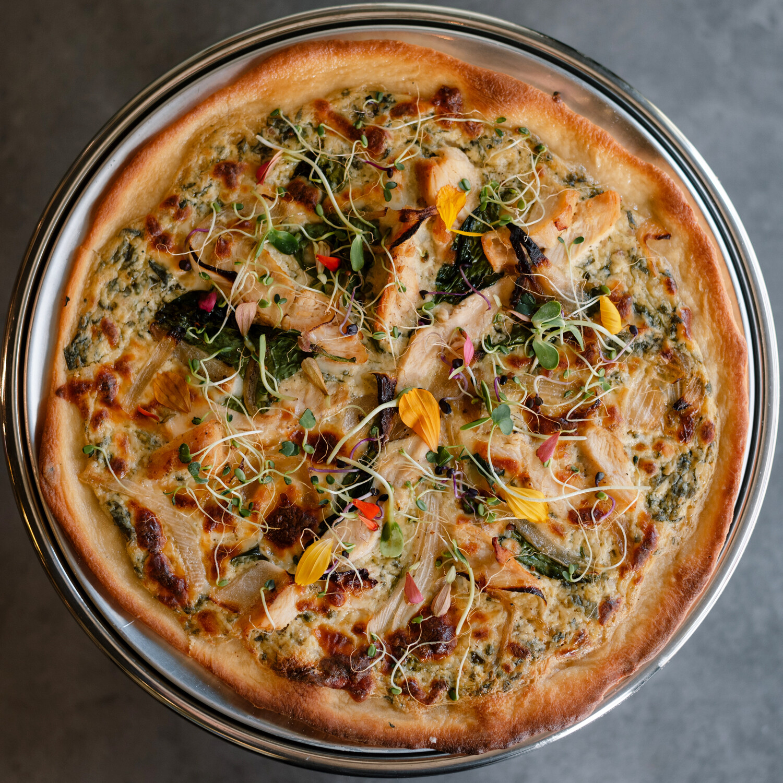 Tu me hiciste Brujería(Chicken Pizza)
