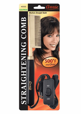 Annie Straightening Comb Electric