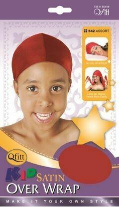Kid Satin Overwrap