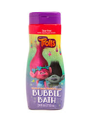 Kid's Bubble Bath Trolls