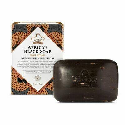 Nubian Heritage African Black Soap Bar Soap