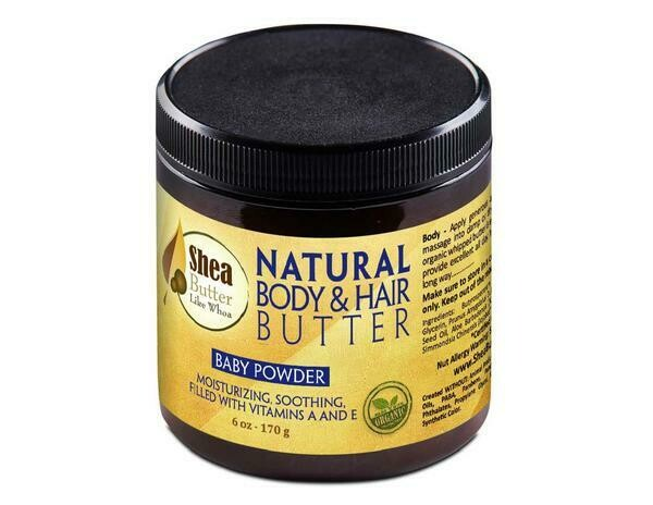 Shea Butter Like Whoa 6oz Butters