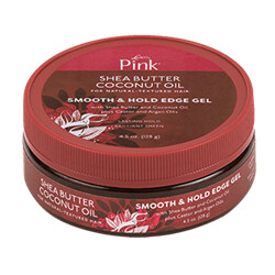 Luster's Pink Shea Butter Coconut Oil Smooth & Hold Edge Gel