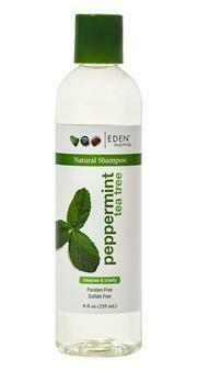Eden BodyWorks Peppermint Tea Tree Natural Shampoo