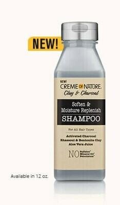 Creme of Nature Clay & Charcoal Shampoo