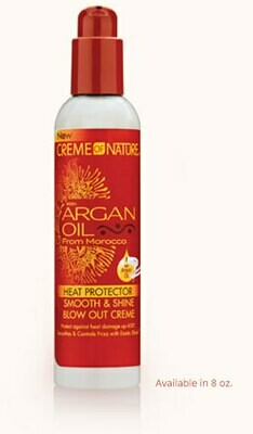 Creme of Nature Argan Heat Protector Smooth & Shine Blow Out Creme