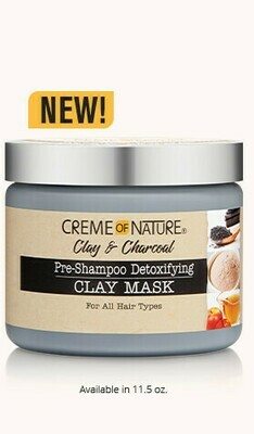 Creme of Nature Clay & Charcoal Pre-Shampoo Clay Mask