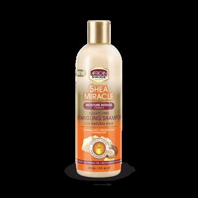 African Pride Shea Sulfate Free Detangling Shampoo