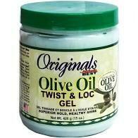 Africa's Best Olive Oil Twist & Loc Gel
