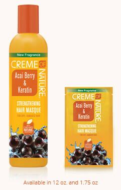 Creme of Nature Acai Berry & Keratin Strenghtening Hair Masque