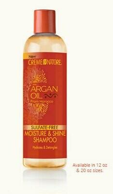 Creme of Nature Argan Sulfate Free Moisture Shine Shampoo