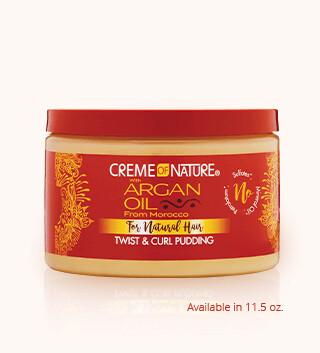 Creme of Nature Argan Twist & Curl Pudding