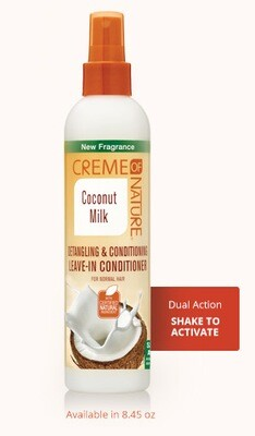 Creme of Nature Coconut Milk Leave-In