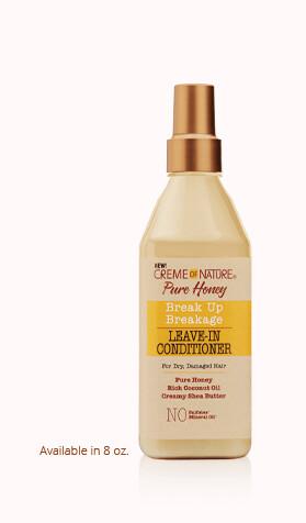 Creme of Nature Pure Honey Break Up Breakage Leave-In Conditioner