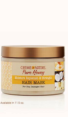 Creme of Nature Pure Honey Moisture Replenish & Strength Hair Mask