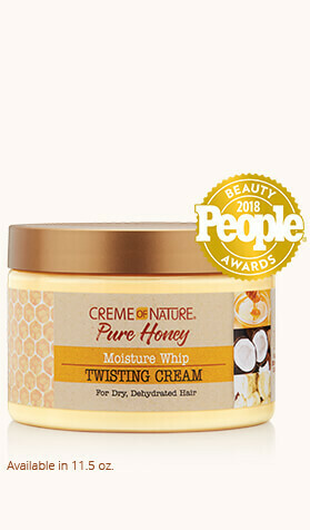 Creme of Nature Pure Honey Moisture Whip Twisting Creme