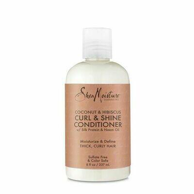 SheaMoisture Coconut & Hibiscus Curl & Shine Conditioner 19.5oz