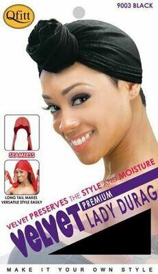 Velvet Lady Du Rag