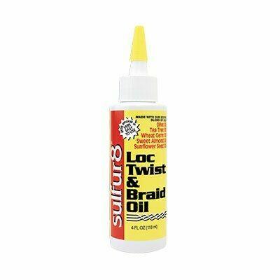 Sulfur8 Loc Twist & Braid Oil