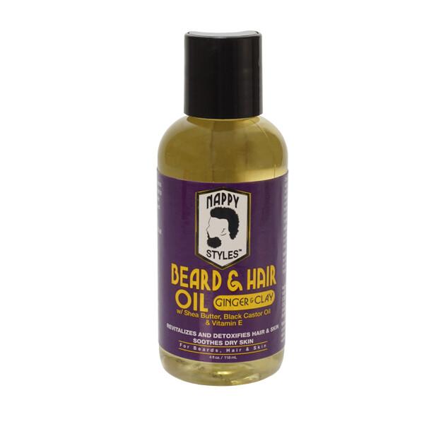 Nappy Beard Oil Ginger & Clay