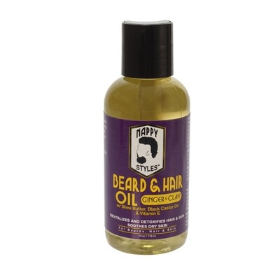Nappy Beard Oil Ginger & Clay