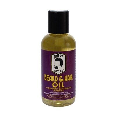 Nappy Beard & Hair Oil