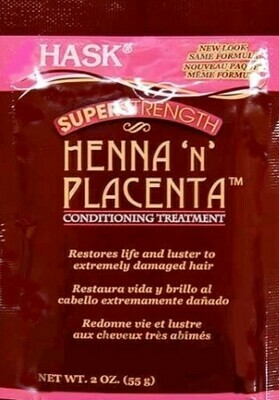 HASK Henna N Placenta Treatment Pack - Super