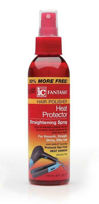 IC Hair Polisher Heat Protectant Spray