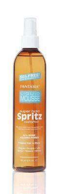 IC LIQUID MOUSSE ‣ Super Hold Spritz Hair Spray