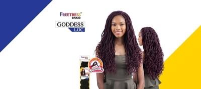 "Freetress Goddess Locs 18"""