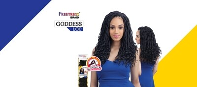 "Freetress Goddess Locs 14"""