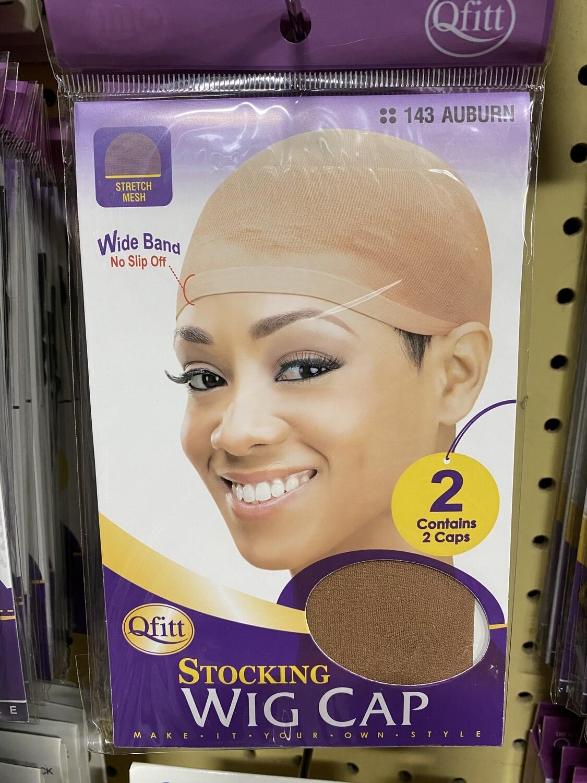 Qfitt Stocking Wig Cap Auburn