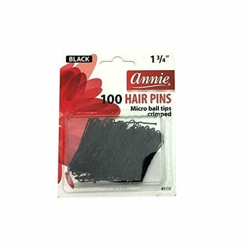 Hair Pin 100 Blk 1 3/4