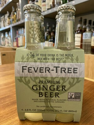 Fever Tree Ginger Beer 4 pk
