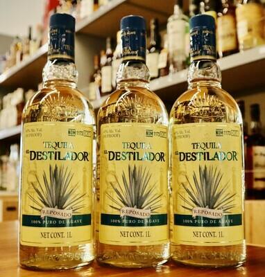 Tequila El Destilador Reposado 80 Pf