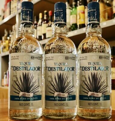Tequila El Destilador Silver Blanco