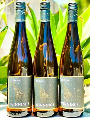 Winnings Riesling Von Winning Off Dry