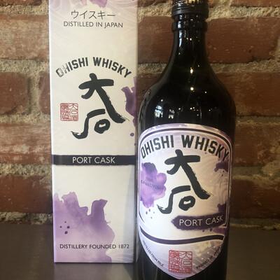 Ohishi Japanese Whisky Port Cask