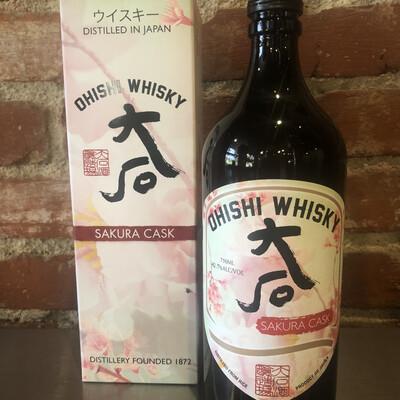 Ohishi Japanese Whisky Sakura Cask
