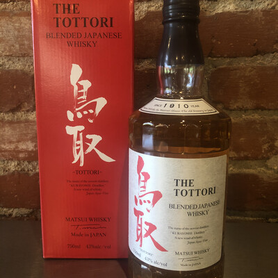 The Tottori by Matsui Blended Japanese Whisky