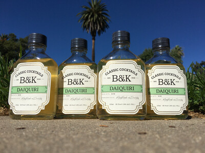 B&K Daiquiri RTD Cocktail by Matt Bostick and David King