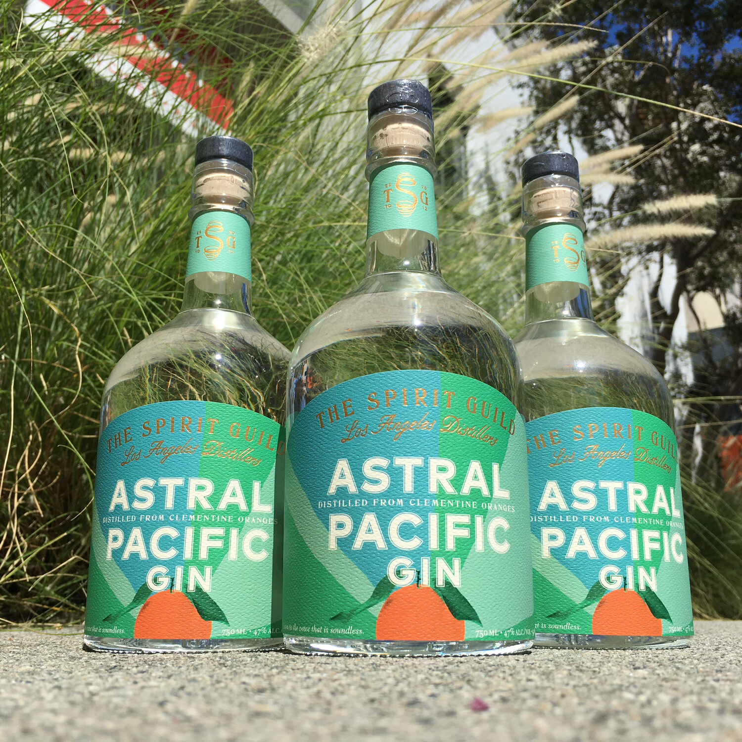 Astral Pacific Gin by The Spirit Guild