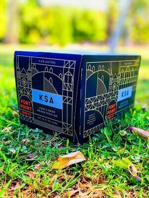 Fort Point 'KSA' Kolsch Style Ale