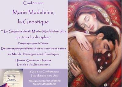 Guide de recherche Marie Madeleine la Gnostique,  participation libre.