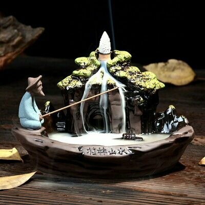 桂林山水倒流香座 | Guilin Landscape Backflow Incense Burner