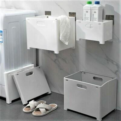 摺疊式掛牆洗衣籃 | Wall-mounted Foldable Laundry Basket