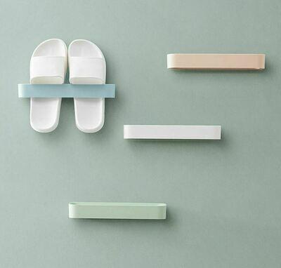 立體壁牆式拖鞋架(4個入) | Wall-mounted Slipper Rack