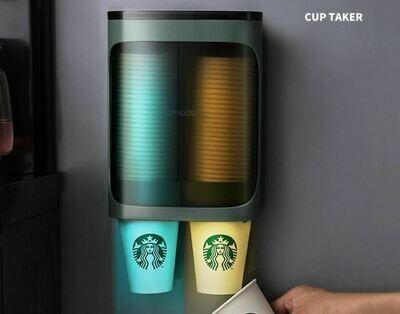 掛牆式紙杯架(單/雙筒) | The Wall-mounted Paper Cup Holder