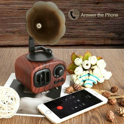 復古留聲機籃牙音箱 | Retro Phonograph Bluetooth Speaker