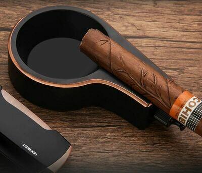 HONEST雪茄煙灰缸奢華套裝 | Honest Luxury Metal Cigar Ashtray Set